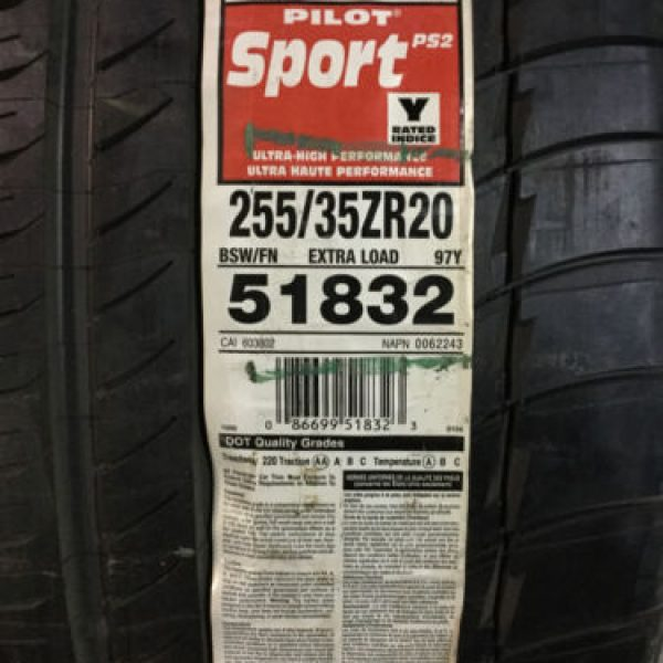 1-New-255-35-20-Michelin-Pilot-Sport-PS2-Tire-0