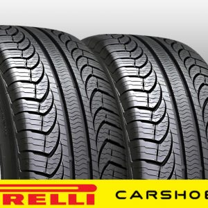 2-NEW-205-60-16-PIRELLI-P4-FOUR-SEASON-TIRES-92T-85K-MILES-P20560R16-60R16-R16-0