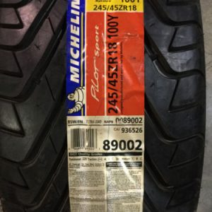 2-New-245-45-18-Michelin-Pilot-Sport-Tires-0