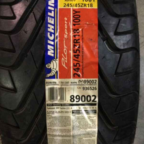 2-New-245-45-18-Michelin-Pilot-Sport-Tires-0