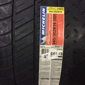 2-New-345-30-19-Michelin-Pilot-Sport-Cup-Tires-0