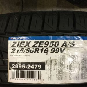 4-New-215-60-16-Falken-Ziex-ZE950-AS-Tires-0