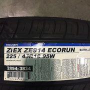 4-New-225-45-18-Falken-Ziex-ZE-914-Eco-Run-Tires-0-0