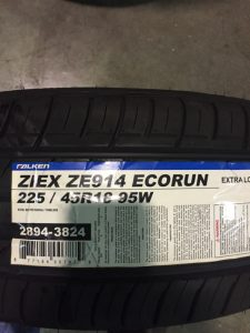 4-New-225-45-18-Falken-Ziex-ZE-914-Eco-Run-Tires-0