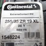 Continental-DW-Extreme-Contact-255-35-19-XL-Tire-set-of-2-Tuned-M4-M3-NEW-0-2