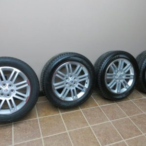 09-SATURN-OUTLOOK-TRAVERSE-ALLOY-20-WHEEL-SET-TIRE-BRIDGESTONE-2009-DUELER-HL-0
