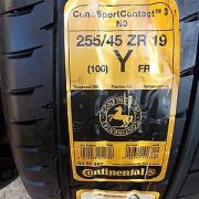 2-NEW-Continental-Tires-25545-ZR19-100Y-2554519-Conti-sportcontact-3-2554519-0-2