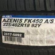 2-New-225-40-18-Falken-Azenis-FK450-AS-Tires-0