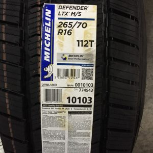 4-New-265-70-16-Michelin-Defender-LTX-MS-White-Letter-Tires-0