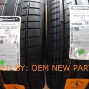 Continental-DW-Extreme-Contact-255-35-19-XL-Tire-set-of-2-Tuned-M4-M3-NEW-0