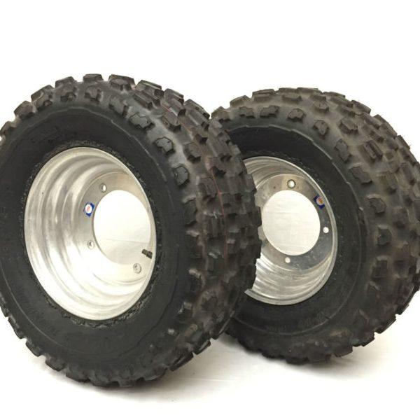 NEW-ATV-MITCHELL-WHEELS-RIMS-W-DUNLOP-TIRES-22X800-10-19-0